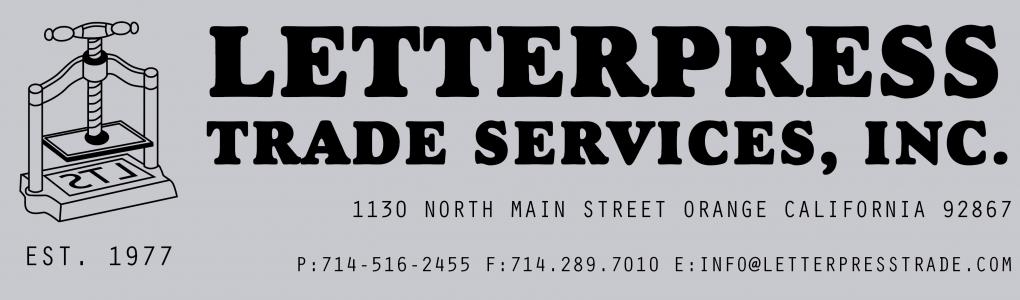 Letterpress Trade